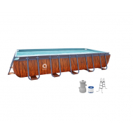Rectangular Steel Frame Pool Liner