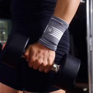 Wrist Support Gray from Live Up