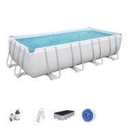 Bestway Rectangular Frame Steel Swimming