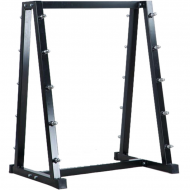Professional Barbell Rack Black from Olympia