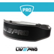 WEIGHTLIFTING BELT from Live Pro - Black