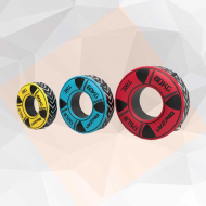 gym tire weight 4 - Red