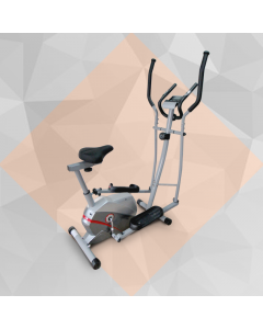 144 Elliptical Exercise Bike from Olympia with 8 Level Resistance Controller