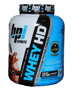 BPI Sports Whey HD 50 Servings