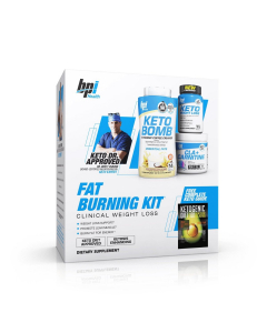 BPI Health - Keto Weight Loss - Fat Burning Kit - Keto Bomb - CLA + Carnitine
