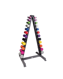 Olympia TRIANGLE DUMBBELL RACK HOLDS 11 PAIR OF DUMBBELLS