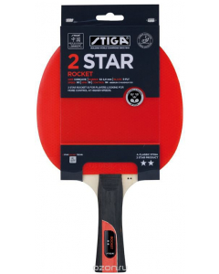 Stiga Rocket 2 Star Bat Red / Black