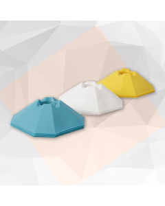 Training Agility Cones from Live Up - Blue / White / Yellow