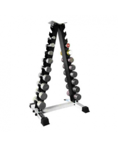 10 PAIR EIFFEL TOWER DUMBBELL RACK from Live Up - Black