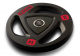 3 GRIPS RUBBER COATED WEIGHT PLATE Black from Flex
