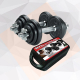 Olympia 20 Kg Black Painted Dumbbell Set