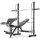 Characteristics Half Smith Olympic Weight Bench - Gray