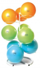 Yoga Ball Rack - Silver